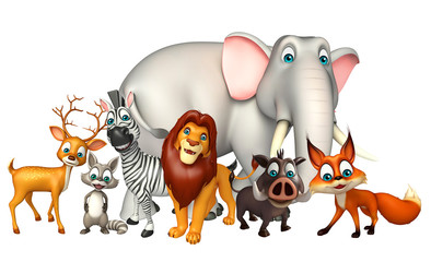 wild animal collection