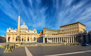 St. Peter's Square in the Vatican
