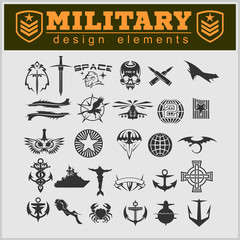 Special unit military patch