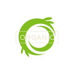 Green Swirl Organic Product Logo