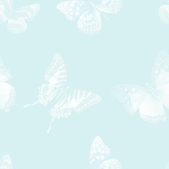 butterfly seamless 06 white