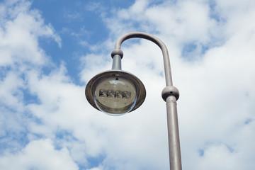 Street lamp outdoors Fotomurales