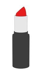 2d cartoon illustration of lipstick