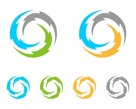 Circle Thunderbolt Logo Template v.2
