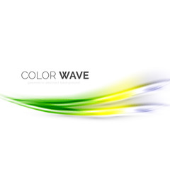 Color wave vector element