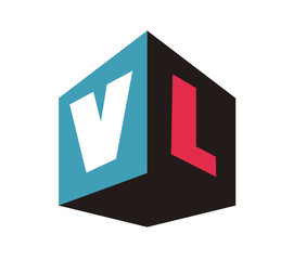 VL Initial Logo for your startup venture