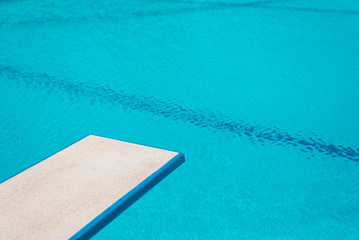Swimming pool series : Springboard