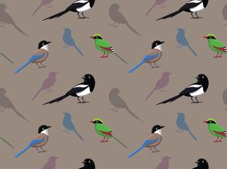 Bird Magpie Wallpaper