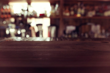 Aluminium Prints Tokyo Pub blurred background bokeh bar restaurant