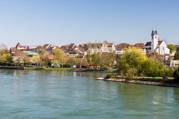Cityscape view of Aarau, Switzerland