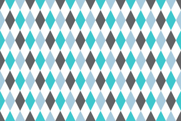Vintage circus geometric seamless pattern.Vector. Isolated