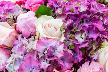 Wedding flowers table decoration