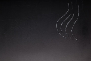 Abstract pattern on a chalkboard