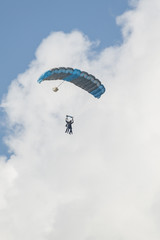 Paratroopers in double jump.