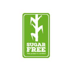 Sugar free label