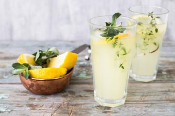 summer cold lemonade