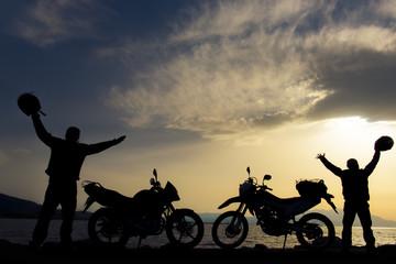 motorsiklet macerası ve gezisi