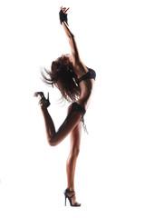 Sexy dancing woman