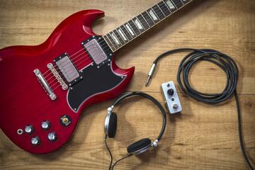 Guitarra eléctrica y accesorios