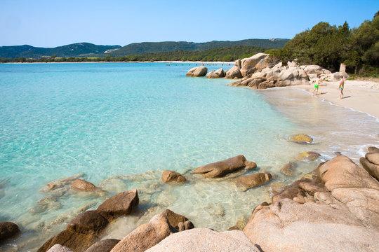 Littoral Corse prêt de Bonifacio