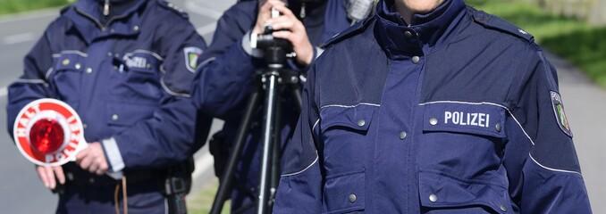Blaulicht Polizei Blitzmarathon