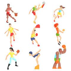 Sports People Set