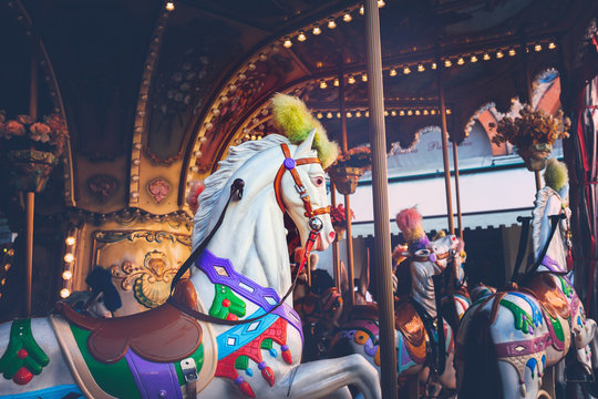 Luna park - carousel ride