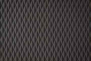 Seamless Abstract Background. Black and gray rhombuses and triangles.