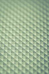 Seamless Abstract Background. .Greenish rhombuses and triangles.