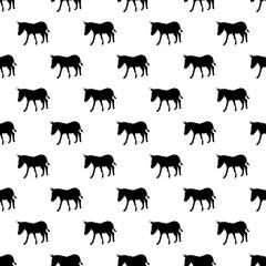 Donkey pattern seamless