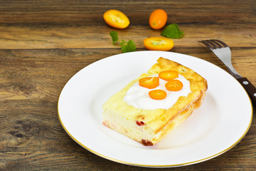 Delicious Baked Cottage Cheese Casserole