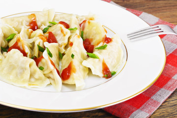 Homemade Dumplings, Russian Pelmeni