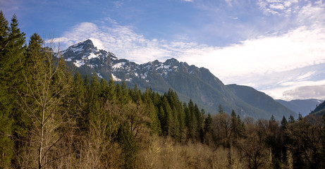 Wall Mural - White Chuck Mountain North Cascade Range Baker Snoqualmie