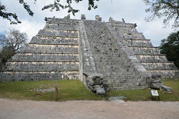 Mayan archeological site of Chichen Itza, Yucatan, Mexico.