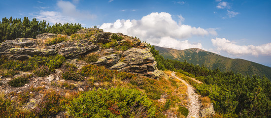 Rocks near a Hiking Trail in West Tatra Mountains
