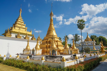 Wat Thaiwatthanaram ,Maesod ,Tak ,Thailand