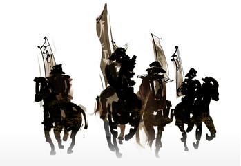 騎馬武者軍団