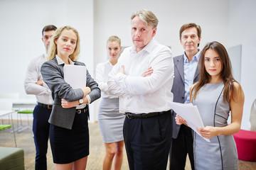 Gruppe Geschäftsleute im Büro