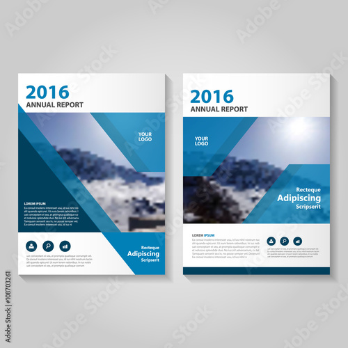 Blue vector business proposal leaflet brochure flyer template design blue vector business proposal leaflet brochure flyer template design book cover layout design abstract cheaphphosting Images