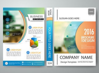 Vector brochure,magazine,modern flyers,cover book,report,design templates, layout,orange abstract circle with white background in a4 size,To adapt for business poster,website,presentation,illustration
