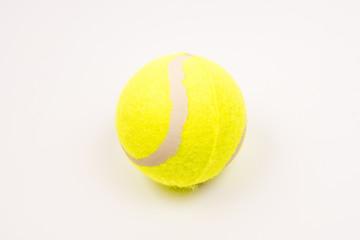 tennis ball white background