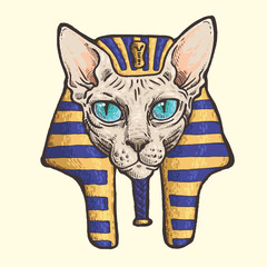 Pharaoh-cat