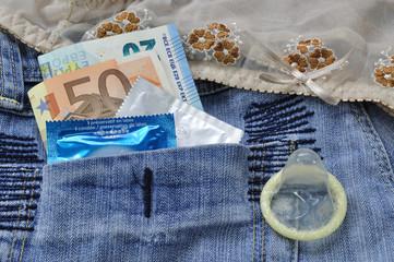 Relation sexuelle tarifé avec préservatif