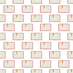 Book pattern seamless