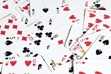 Playing card background