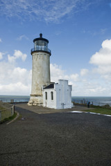 North Head lighthouse at Cape Disappointment Washington