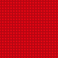 Red plastic construction plate. Seamless pattern background. Vector illustration