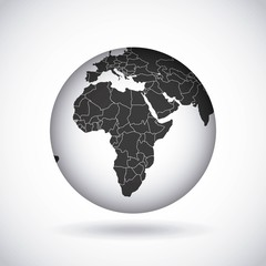 african continent  design