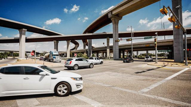 Austin, Texas City Traffic and Freeway