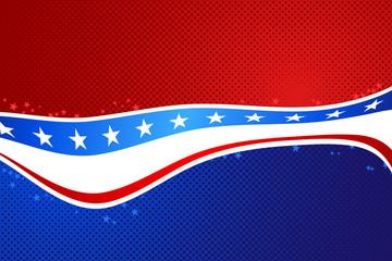 United States Flag Background